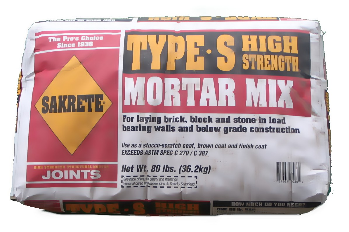 Grey Mortar Mix (Sakrete) Type S
