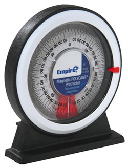 36 Magnetic Polycast ® Protractor